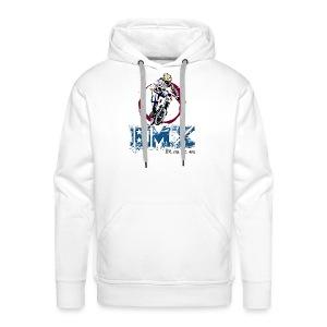 BMX RACE Pilote - Sweat-shirt à capuche Premium pour hommes