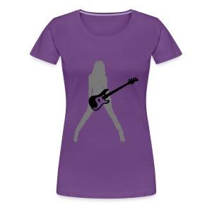 Women's  Rock T-shirt  - Women's Premium T-Shirt