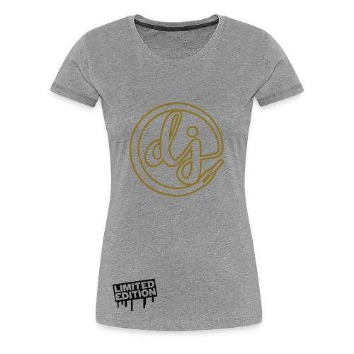 Limited edition GOLD T-shirt (women) - Women's Premium T-Shirt