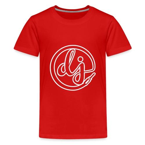 Dj T-shirt - Teenage Premium T-Shirt