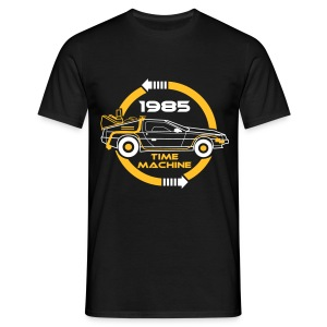 1985 Time machine Homme - T-shirt Homme