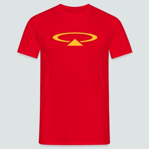 Oval T-Shirt, Herren - Männer T-Shirt