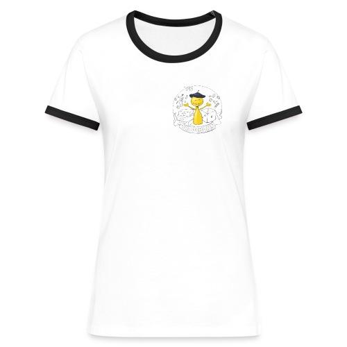 LudochEuroGamer - T-shirt contrasté Femme