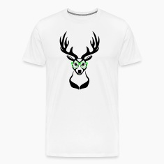 Deer head nerd glasses 2c T-Shirts