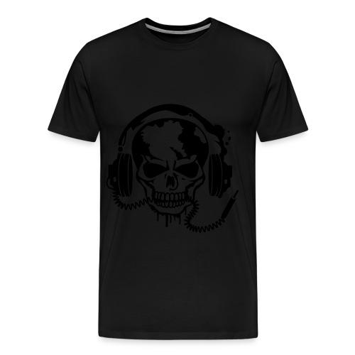Men's Rocking skull T-shirt  - Men's Premium T-Shirt
