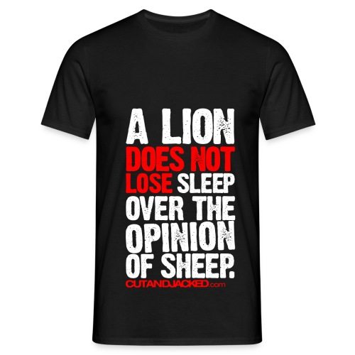 A lion does not lose |  Mens Tee - Men's T-Shirt