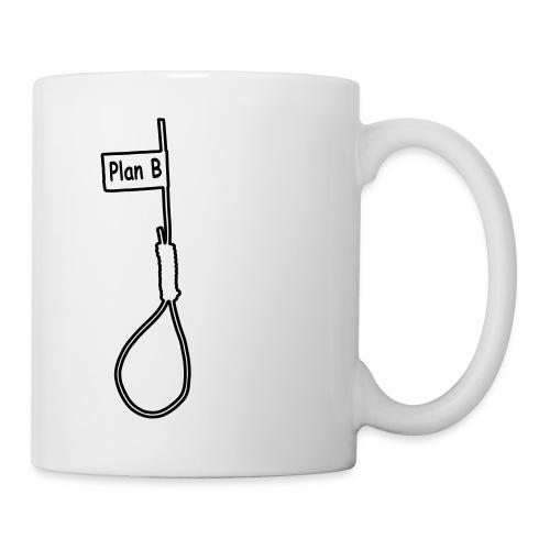 Plan B - Tasse 2fach bedruckt - Tasse
