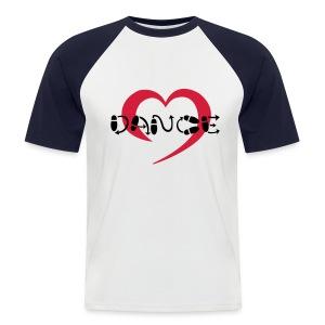 Dance (man) - Mannen baseballshirt korte mouw