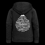 Hoodies & Sweatshirts ~ Women's Premium Hooded Jacket ~ Drip drop