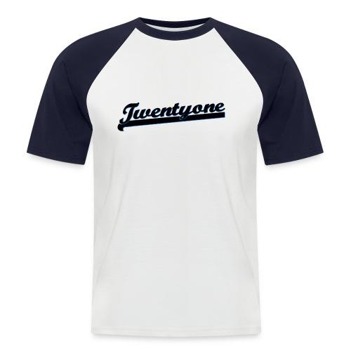 Raglan Bounceball - Männer Baseball-T-Shirt