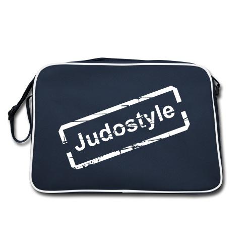 Sac bagbase tampon blanc judostyle - Sac Retro