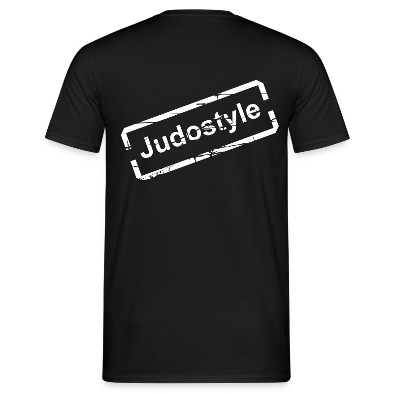 Tee shirt  tampon blanc judostyle dos - T-shirt Homme