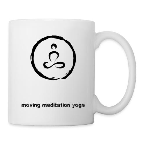 Moving Meditation Yoga seitlich - Tasse