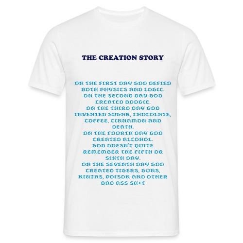 The Creation Story - Men's T-Shirt