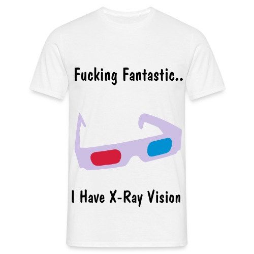X-Ray Vision - Men's T-Shirt