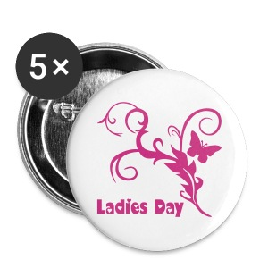Button Ladies Day - Buttons groß 56 mm