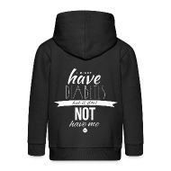 Hoodies ~ Kids' Premium Zip Hoodie ~ Just sayiing