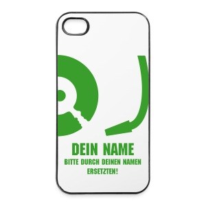 DJ XXX (DEIN NAME) - iPhone 4/4s Hard Case