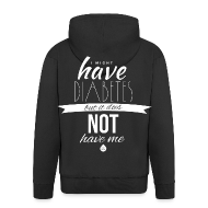 Hoodies & Sweatshirts ~ Men's Premium Hooded Jacket ~ Just saying