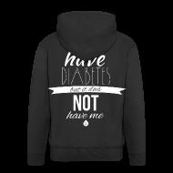 Hoodies & Sweatshirts ~ Men's Premium Hooded Jacket ~ Just saying