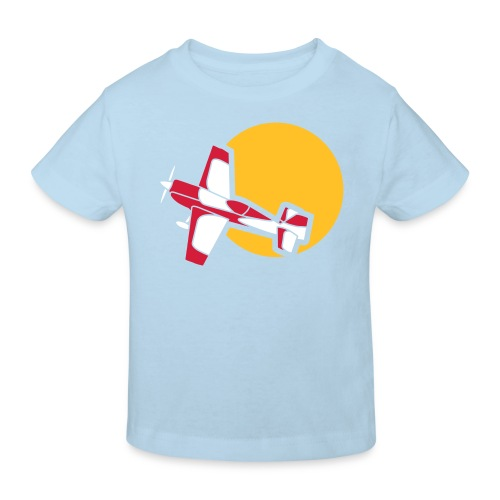 Flugzeug Jet Airplane Sky Himmel Sun Sonne Sport - Kinder Bio-T-Shirt