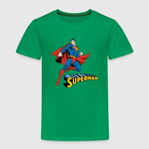 Superman Move Pose Kinder T-Shirt - Kinderen Premium T-shirt