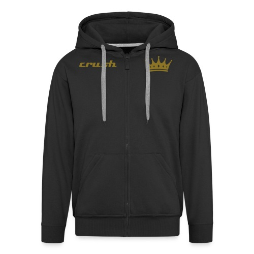 Crush golden hoodie - Men's Premium Hooded Jacket