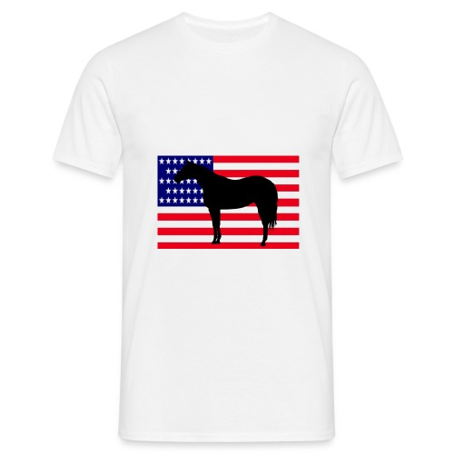 QuarterHorse US - T-shirt Homme