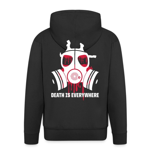 Death Is Everywhere - Mannenjack Premium met capuchon