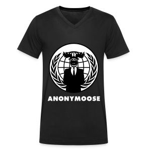 T-shirt homme anonymoose VICI - T-shirt bio col V Stanley & Stella Homme