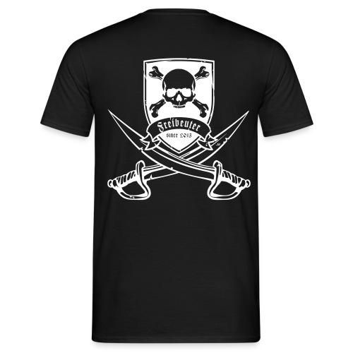 Klassisches Herrenshirt 2013 druck weiß - Männer T-Shirt