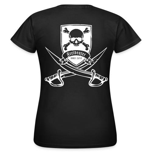 Klassisches Damenshirt 2013 druck schwarz - Frauen T-Shirt