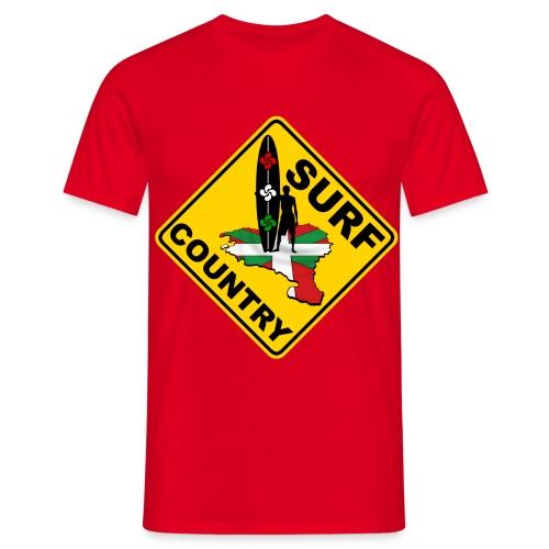 Surf Pays Basque - Men's T-Shirt