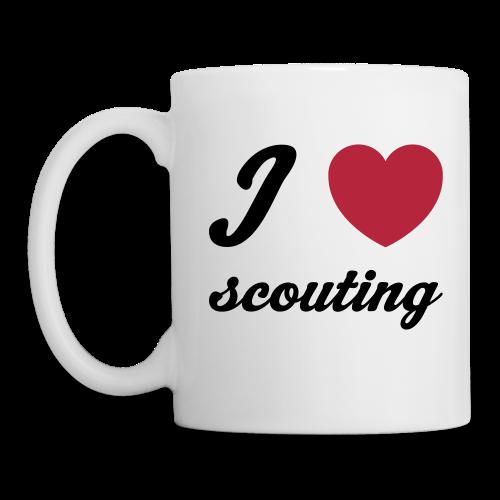 I love scouting - Mug
