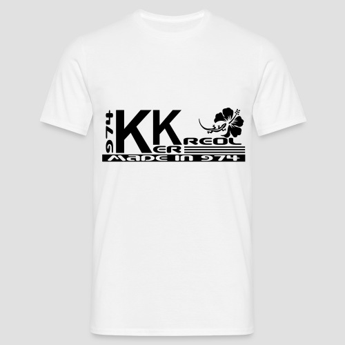 T-shirt Homme 974 Ker Kreol collection 2013 - 01 - T-shirt Homme