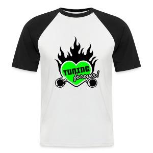 Heren shirt Tuning Forever - Mannen baseballshirt korte mouw