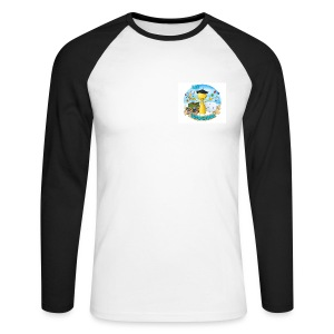 Ludochons + nom - T-shirt baseball manches longues Homme