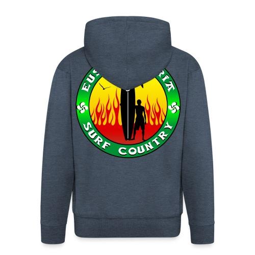 Pays Basque surf - Men's Premium Hooded Jacket