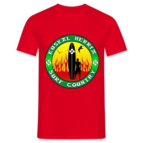 Pays Basque surf - Men's T-Shirt