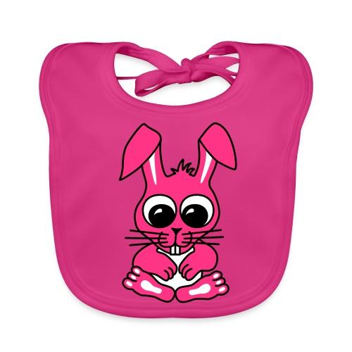 Süßer Hase - Lätzchen - Baby Bio-Lätzchen