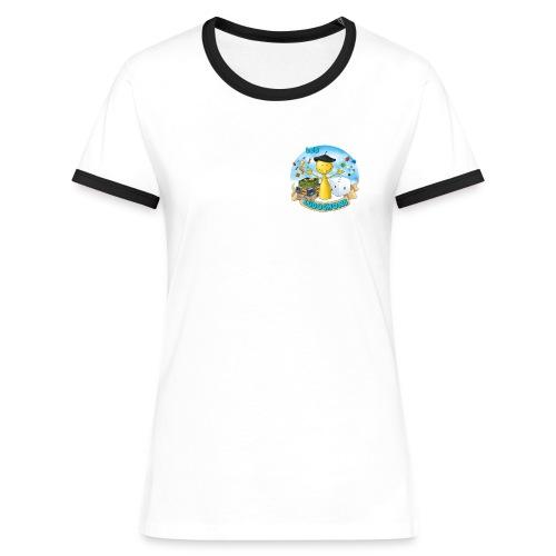 Ludochons - T-shirt contrasté Femme