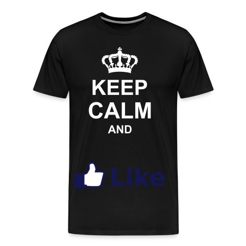 Mannen Premium T-shirt - teen,sale,mannen,like,keep,calm,and