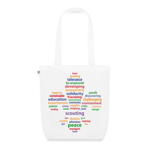 Scouting is... - bio - EarthPositive Tote Bag