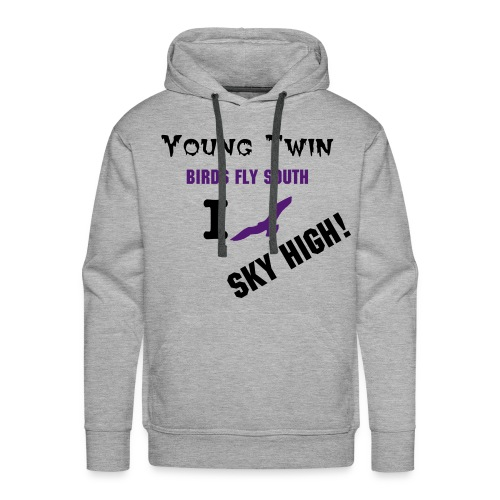 Young Twin x Sucker4Clothes Hoody - Men's Premium Hoodie