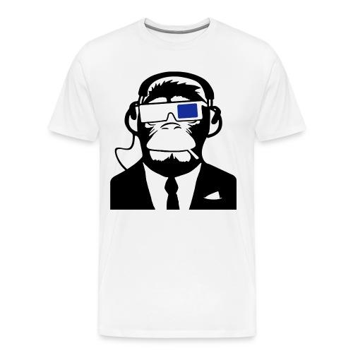 3D Monkey - Mannen Premium T-shirt