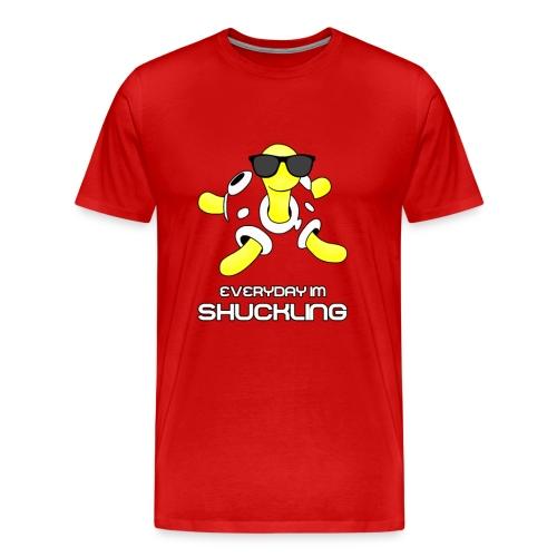 Everyday I'm Shuckling! - Men's Premium T-Shirt
