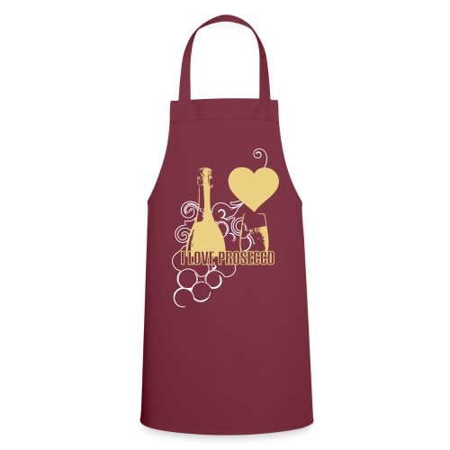 I Love Prosecco - Cooking Apron Love Grapes - Cooking Apron