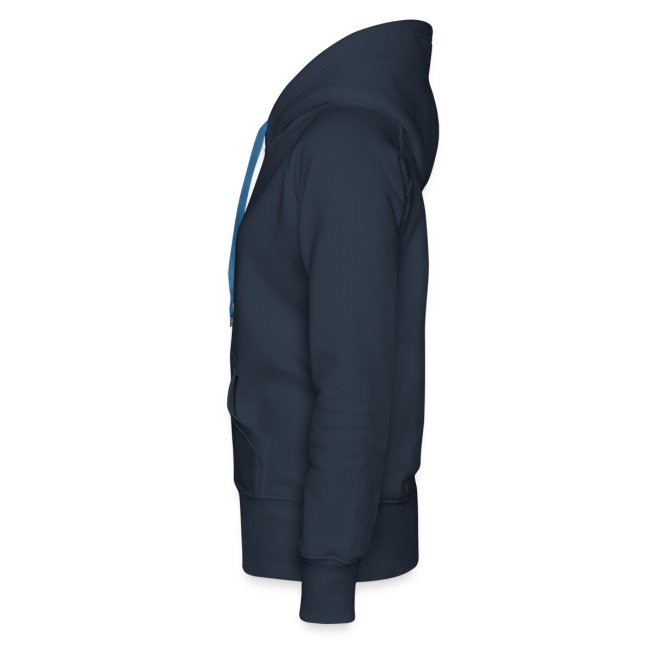 Dam långärmad marinblå