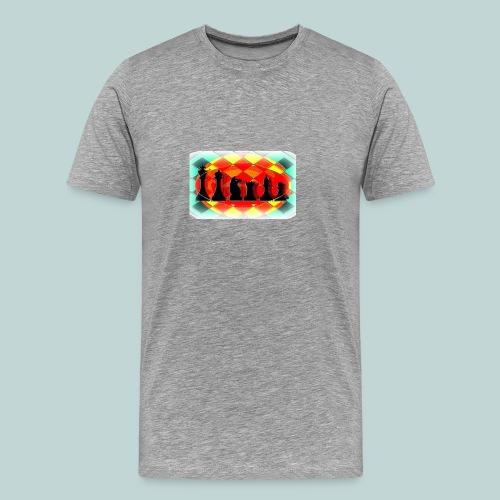 Figurensatz email - Männer Premium T-Shirt