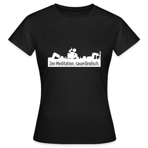 Meditation - Frauen T-Shirt